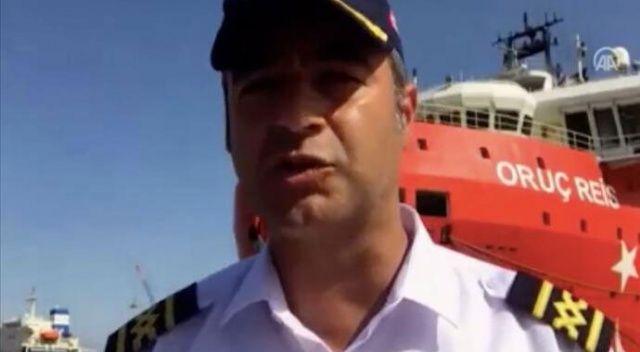 Oruç Reis'in kaptanı 35 günlük görev sürecini anlattı