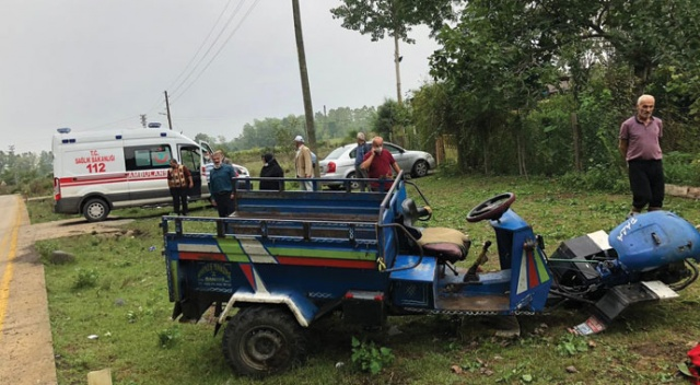 Patpat kazası: 1 yaralı