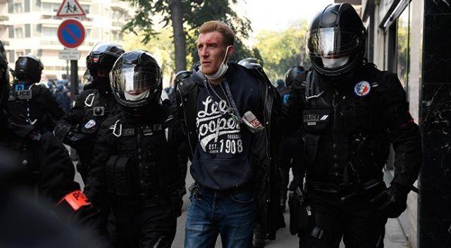 Sarı Yelekliler yeniden Paris sokaklarında: Çok sayıda gözaltı var