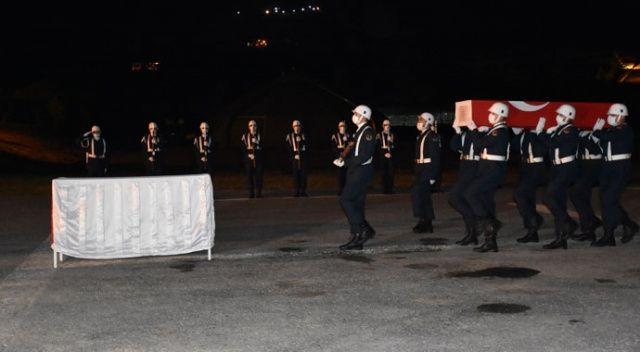 Şehit Sinan Aktay için Hakkari'de tören