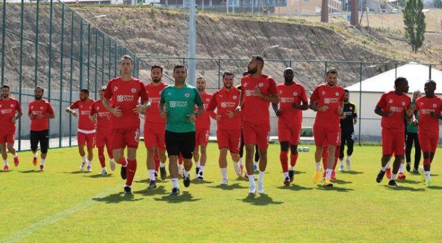 Sivasspor, Erzurum maçına hazır