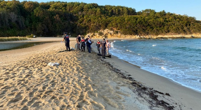 Tekirdağ'da dalgalara kapılmış cansız bir beden bulundu