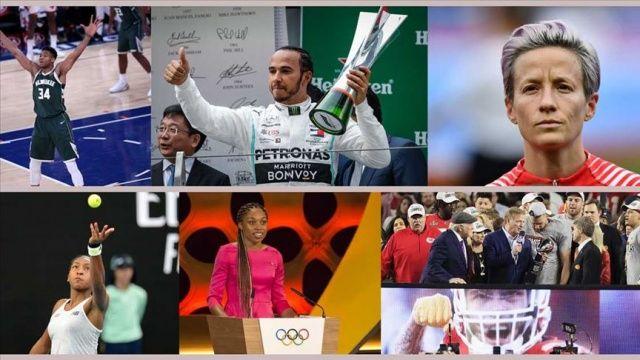 Time dergisinin 'en etkili 100 kişi' listesinde 8 sporcu