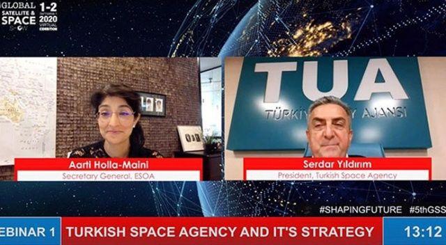 Türkiye Uzay Ajansı Başkanı Serdar Yıldırım: Doğu Anadolu Uzay Gözlemevi gelecek yıl açılacak