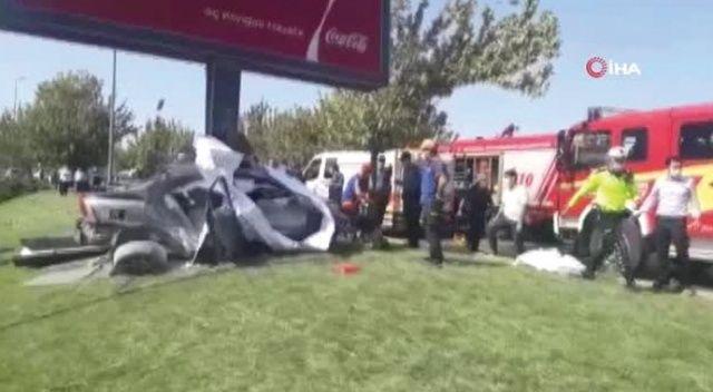 Yeşilköy'de feci kaza! Olay yerine itfaiye ve sağlık ekipleri sevk edildi