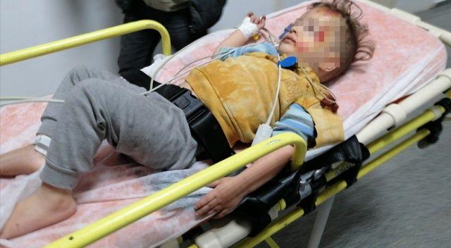 2 yaşındaki çocuk balkondan düştü