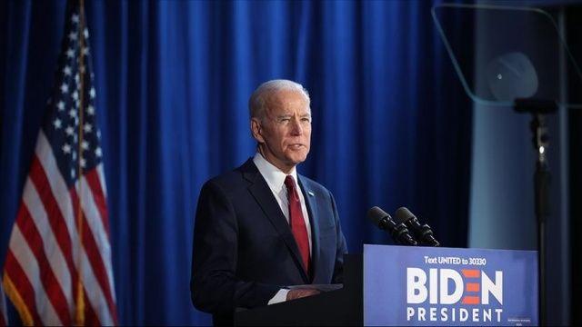ABD başkanlığı için yarışan Demokrat aday Joe Biden erken oy kullandı