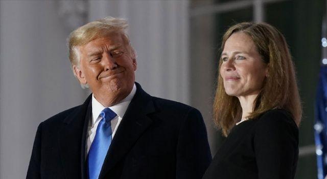ABD'de Yüksek Mahkeme Yargıcı Barrett Beyaz Saray'da yemin etti