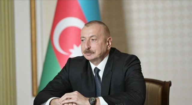 Aliyev'den Cumhurbaşkanı Erdoğan'a geçmiş olsun telefonu