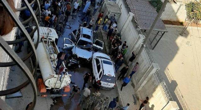 Azez'de bir hakimin aracına saldırı