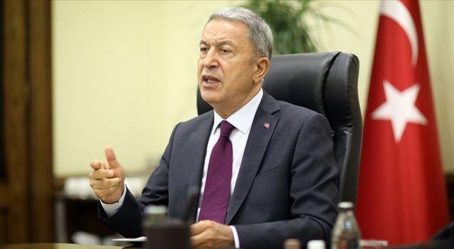 Bakan Akar'dan Ermenistan'ın sivil katliamlarına sert tepki!