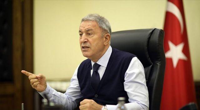 Bakan Akar: 'Ermenistan savaş suçu işliyor'