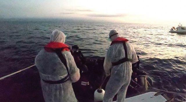 Balıkesir'de 36 düzensiz göçmen kurtarıldı