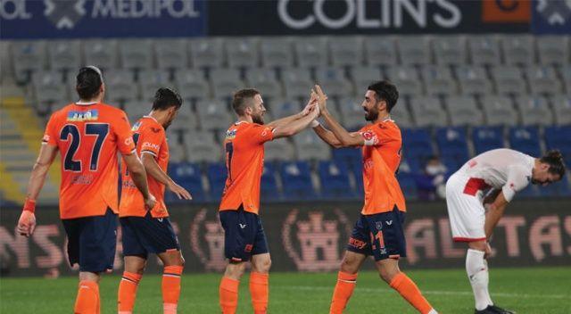 Başakşehir Antalyaspor'a patladı: 5-1