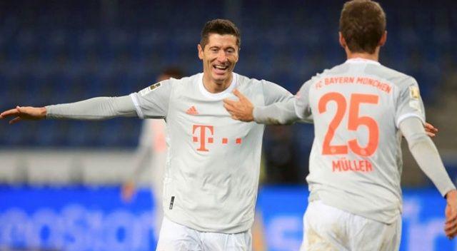 Bayern Münih, deplasmanda Bielefeld'i 4-1 yendi