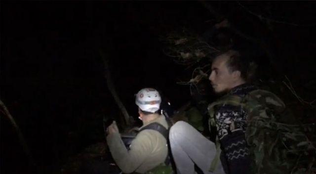 Bursa'da dağda kaybolan 4 kişi 6 saat sonra bulundu