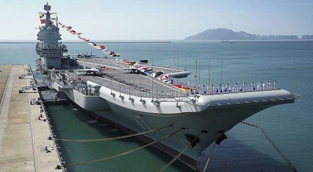 Çin, ikinci uçak gemilerinin savaşa hazır olduğunu duyurdu