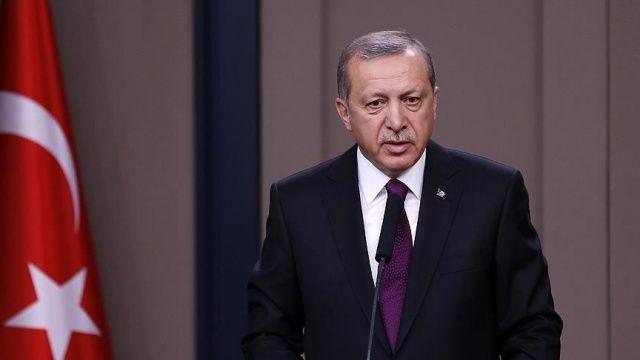 Cumhurbaşkanı Erdoğan'dan şehit Tekcan'ın ailesine başsağlığı mesajı
