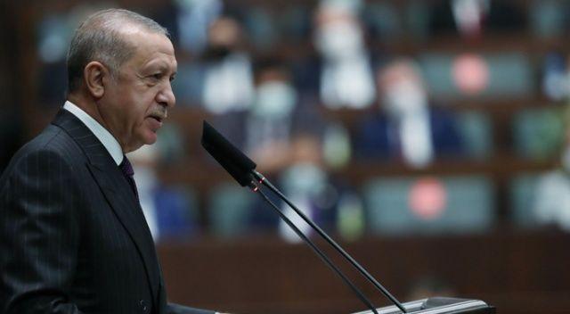 Cumhurbaşkanı Erdoğan, Libya Ulusal Mutabakat Hükümeti Başkanlık Konseyi Başkanı Es-Serrac ile görüştü