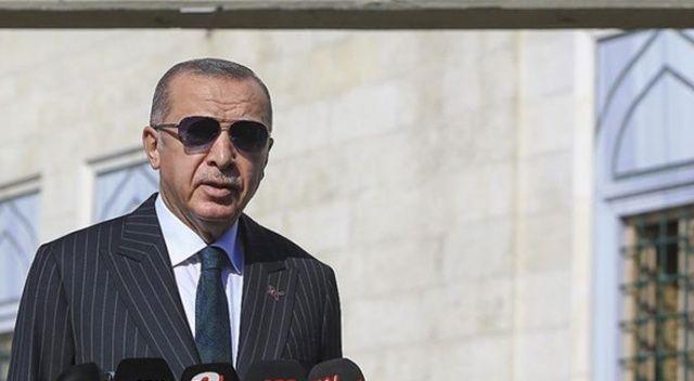 Cumhurbaşkanı Erdoğan: S-400'ü test ediyoruz, ABD bizi bağlamaz