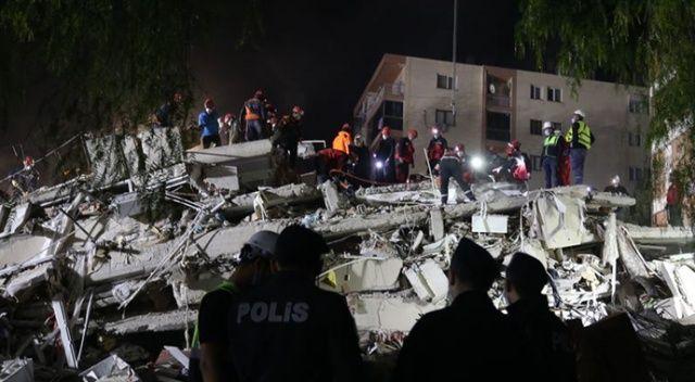 Depremden 30 saat sonra enkazdan bir kişi daha kurtarıldı