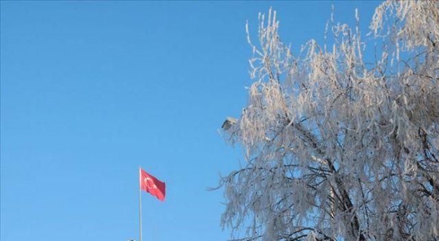 Doğu Anadolu'da en düşük hava sıcaklığı Ardahan'da ölçüldü