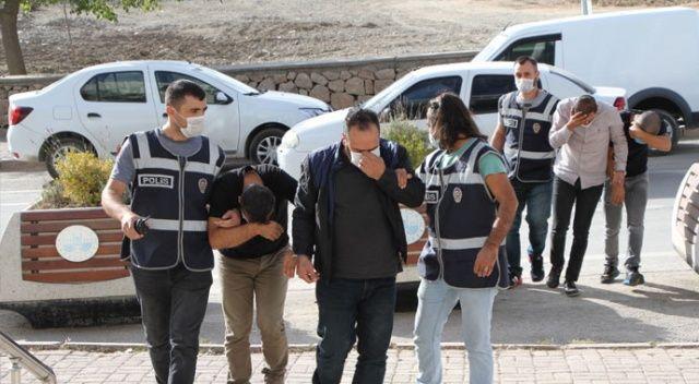 Elazığ'da yüzlerce sahte altın ele geçirildi, 4 şüpheli yakalandı