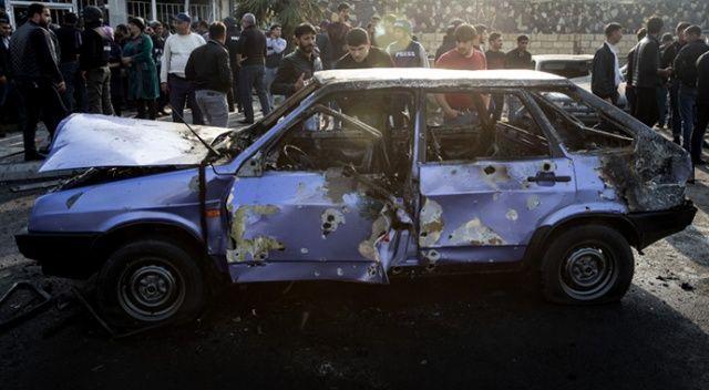 Ermenistan'ın Berde şehir merkezine düzenlediği saldırıda 21 sivil öldü