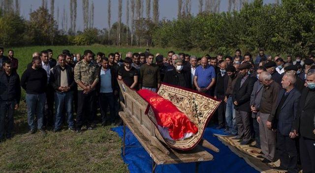 Ermenistan'ın saldırısında ölen Azerbaycanlı 21 sivil son yolculuğuna uğurlandı