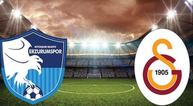 Erzurumspor 1-2 Galatasaray şifresiz canlı anlatım izle | Erzurum GS maçı skoru kaç kaç? (beIN Sports 1 CANLI)