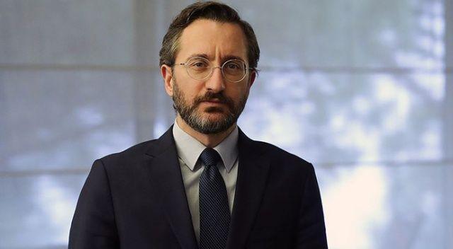 Fahrettin Altun Azerbaycan Cumhurbaşkanı Yardımcısı Hacıyev ile görüştü
