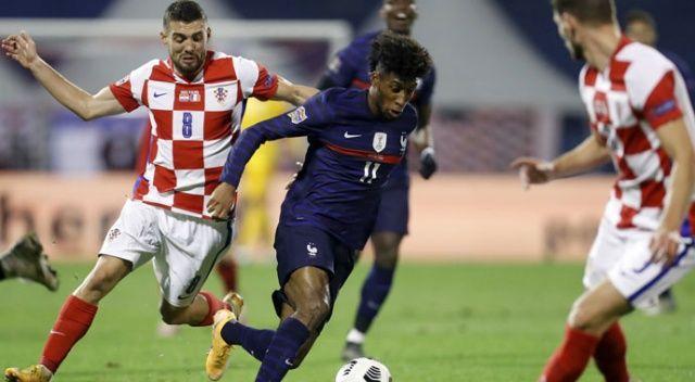 Fransa deplasman Hırvatistan'ı 2-1'le geçti