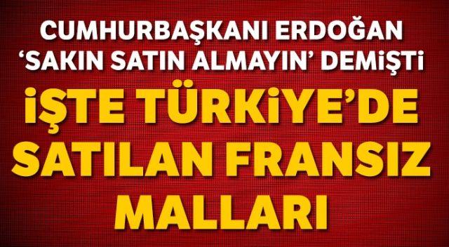 Fransız Mallarının Tam Listesi (İşte Fransız Markaları Listesi) Türkiye'de Satılan Fransız Malları