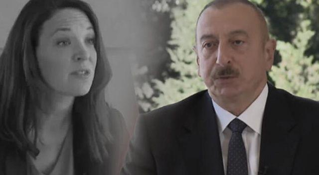 Fransız sunucunun drone sorusuna İlham Aliyev'den olay cevap