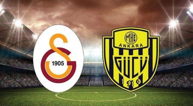 Galatasaray, evinde Ankaragücü'nü 1-0 mağlup etti