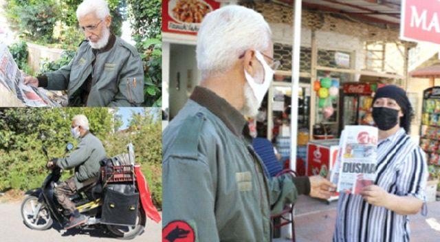 Gazetemizin emektarı Hakkı Önür 33 yıldır evlere huzur dağıtıyor