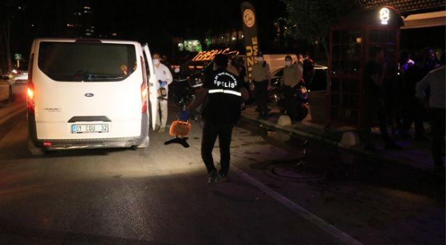 Genç kadın restoran çıkışı silahlı saldırıya uğradı