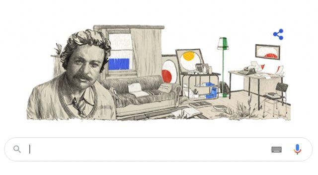 Google'dan Oğuz Atay'a özel doodle (Oğuz Atay kimdir?)