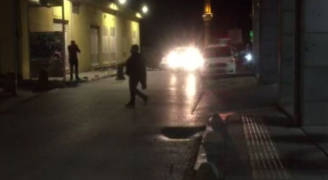 Hastanede görevli Jandarma personeline saldırdılar