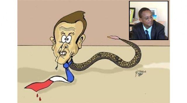 İkiyüzlü Fransa: Macron'un karikatürünü çizdi, kovuldu