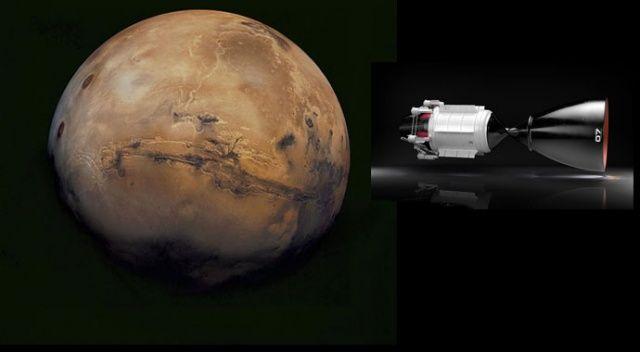 İnsanı 3 ayda Mars'a götürecek nükleer motor geliştiriliyor