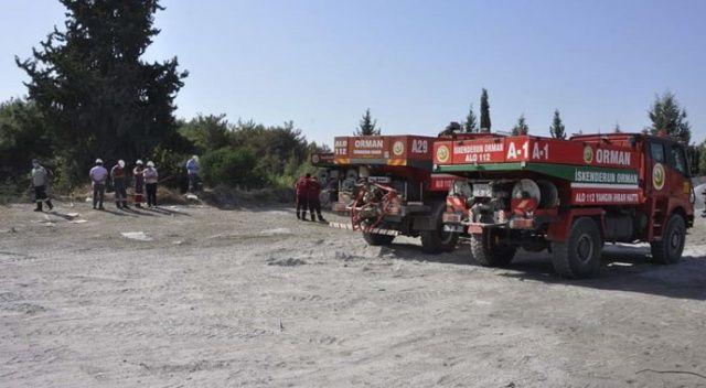 İskenderun'daki orman yangını kontrol altına alındı
