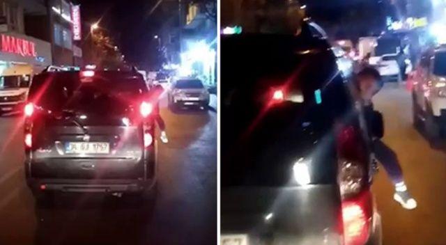 İstanbul'da çocukların ölümle burun buruna geldiği anlar kamerada