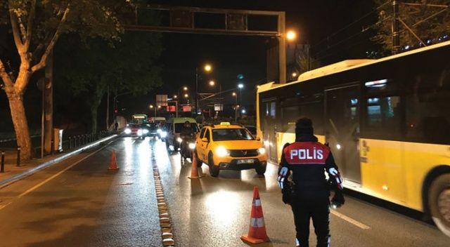 """İstanbul genelinde """"Yeditepe Huzur"""" uygulamaları yapıldı"""
