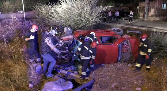 Konya'da otomobiller çarpıştı: Çok sayıda yaralı var