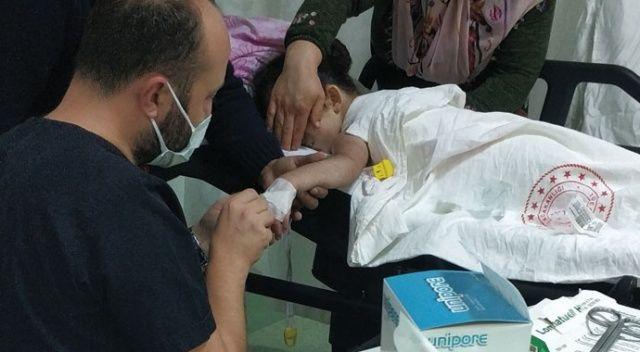 Korkunç! 7 yaşındaki çocuk kaynar su kazanına düştü