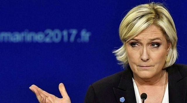 Le Pen: İslamiyeti topraklarımızdan silip atın... Sarı çiyan
