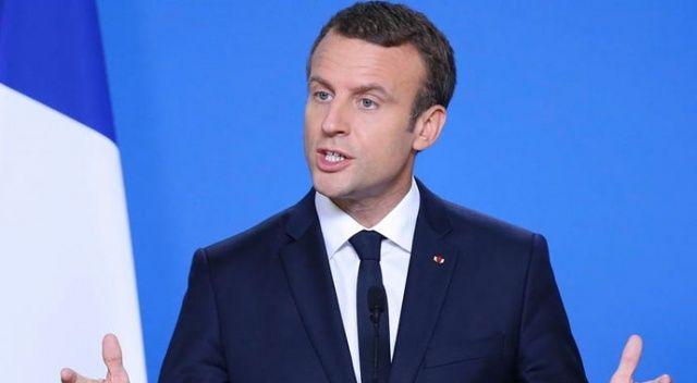 Macron Türkiye'yi eleştirdi