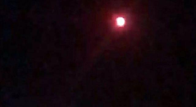 Malatya'da gökyüzünde merak uyandıran cisim