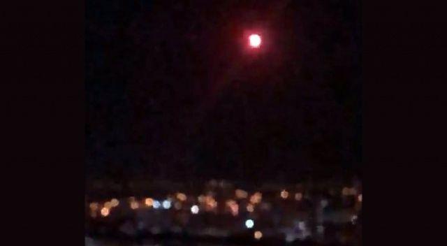 Malatya'da gökyüzünde merak uyandıran görüntü